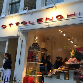 Ottolenghi in Notting Hill.