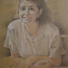 """""""Paola"""" - pastello su carta cm. 50 x 35 – Cernusco sul Naviglio, collezione privata"""