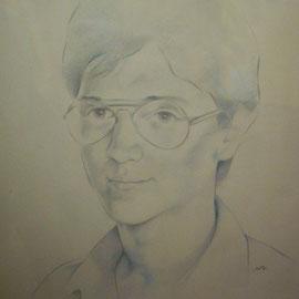 """""""Alberto"""" - matita su carta cm. 50 x 35 - Cernusco sul Naviglio, collezione privata"""
