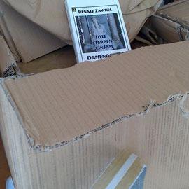 Bücheranlieferung am Freitag, dem 15.2.2013