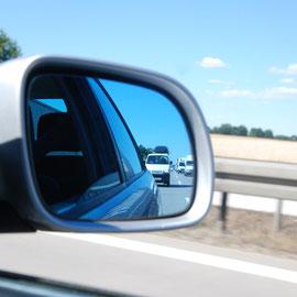 Die erste Autobahnfahrt mit nicht ganz 140h/km ;)