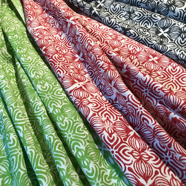 Block Print Fabric Lena, made in Rajasthan