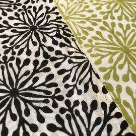 Block Print Fabric Elena, made in Rajasthan, designed by Maasa Production Pvt. Ltd.