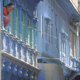 Jodhpur - the blue city - Textile Tour India