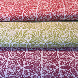 Block Print Fabric Manou, made in Rajasthan, designed by Maasa Production pvt. Ltd.