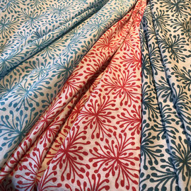 Block Print Fabric Sina, made in Rajasthan