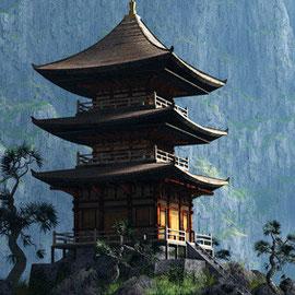 Zen Tempel, Nepal