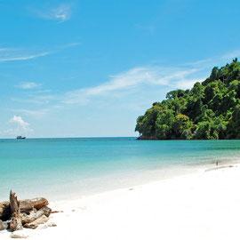 Turtle Island Sandakan, Borneo, Malaysia