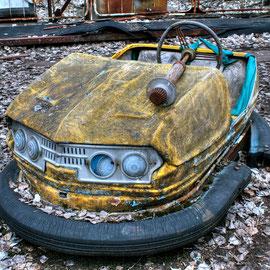Big Wheel & Bumper Cars Exclusion Zone Chernobyl