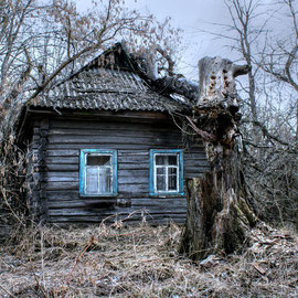 Abandoned Villages Exclusion Zone Chernobyl