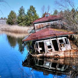 Shipwrecks Exclusion Zone Chernobyl