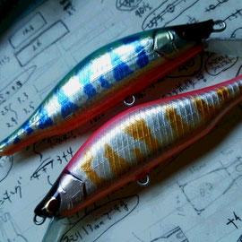 鬼山女魚練習