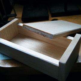 Redeye88クリが残す処少しなので Woody Lure Box にチャレンジ中!棺桶かエサ箱みたい笑。まーとりあえず最初だしお手本なしだしw