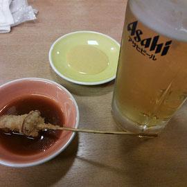 ジュンケイと生ビール、僕の最強コンビっす( ゚д゚)ノ