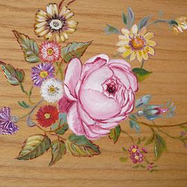 Meuble décoration florale-copiryght Pascale Richert