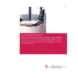 Das Geschäft liegt auf der Straße. Endlich unterwegs mobil vernetzt. Mit Mobile Business Solutions.