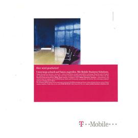 Hier wird gearbeitet! Unterwegs schnell auf Daten zugreifen. Mit Mobile Business Solutions.