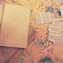 ...so schnell wird aus alten Büchern ein neuer Blickfang