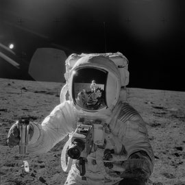 Apollo 12,  Alan L. Bean - Photo : Nasa/CDN