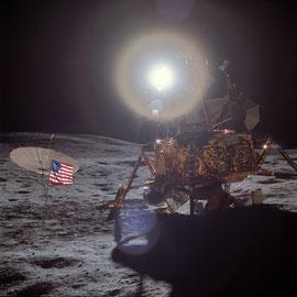 Apollo 14 Vue du Module Lunaire - Photo : Nasa/CDN