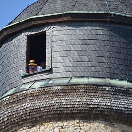 Mühle in der Langen Wand: Deutscher Mühlentag 2014 in Bad Nauheim, Foto: Corinna Weigelt