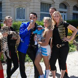 Fam Fischer Elvis und Tiger-cor