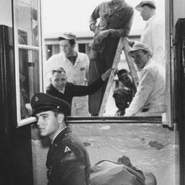 "10 - Horst Schüssler: ""GI ELVIS PRESLEY"" , Foto: Sammlung MUSEUM BAD NAUHEIM, stellvertr. Beatrix van Ooyen"