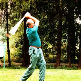 Sammlung Wolfgang Zeh: Auf dem Golfplatz