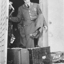 "9 - Horst Schüssler: ""GI ELVIS PRESLEY"" , Foto: Sammlung MUSEUM BAD NAUHEIM, stellvertr. Beatrix van Ooyen"