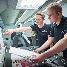 Offsetdruck mit LIVING PSO! Zertifizierung –Satzdruck - Druckerei Coesfeld NRW