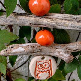 Keramik und Treibholz Dekokette