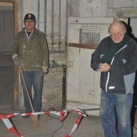 Eugen Baumann und Klaus Burger