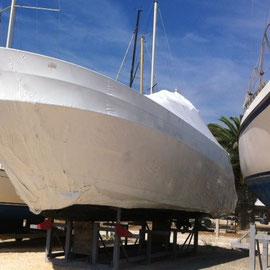 TPS  Concessionnaire Volvo Penta Hyères peut réaliser l'hivernage de votre bateau.