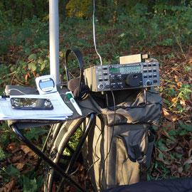Aktivierung des Karmelenberg DM/RP-470 mit Elecraft K2 und 2x9m Dipol