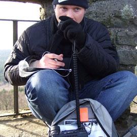 Funkbetrieb auf der Hohen Acht DM/RP-001