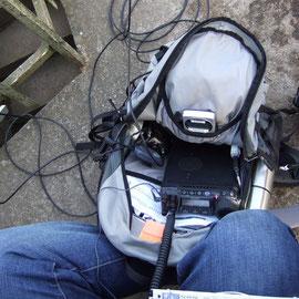 Funkbetrieb auf der Hohen Acht DM/RP-001 mit Yaesu FT-857