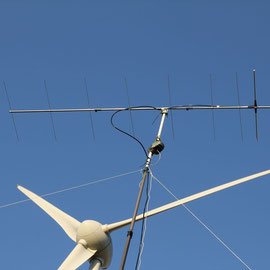Tonna 9 Element 144Mhz Yagi in 11m Höhe