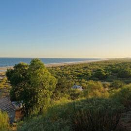 """der wunderbare """"Praia Verde"""" macht seinem Namen wirklich alle Ehre"""