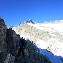 Cresta de los Potillones al Pico de la Madaleta