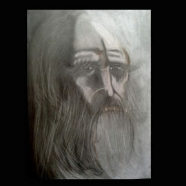Studie nach Da Vinci  42x60 cm    Preis: 180 Euro