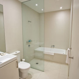 Bathroom with wetroom installation with limited space it work out brilliantly