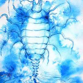Phytoid 2; 2011; 42 x 30 cm; Acryl, Airbrush auf Papier