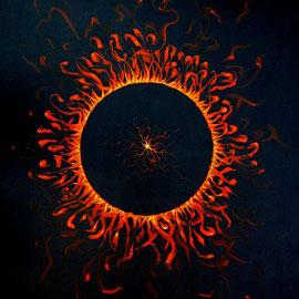 Eklipse 2; 2011; 120 x 80 cm; Acryl auf Leinwand