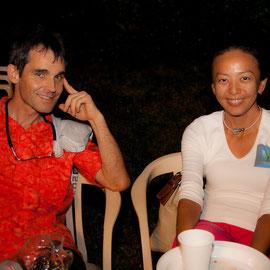 Eric Mahe et Lyvonne Lau