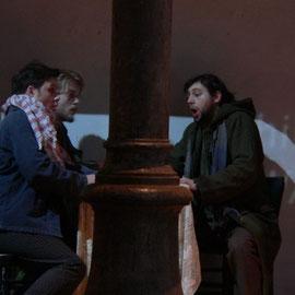 Alexander Mayr (Little James) , Stefan Reichmann (Simon) , Michael J. Schwendinger (Thaddaeus)