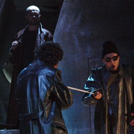 Michael Wagner (Ekart) - Sébastien Soulès (Baal) - Michael J. Schwendinger (Bettler)
