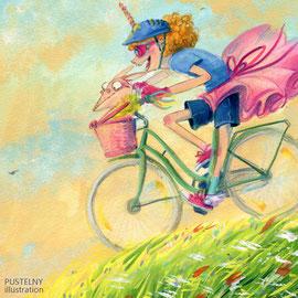 Fahrrad Abenteuer