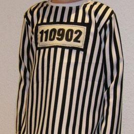 STRÄFLING: Schlupfhemd und Hose, Mischgewebe & Stoffmalfarben