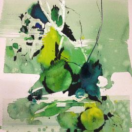 von Äpfel und Birnen |  59 x 75 | 2013