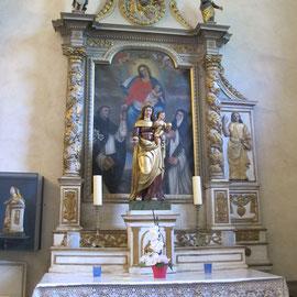 Restauration de la Vierge à l'Enfant à Cléry (Savoie)